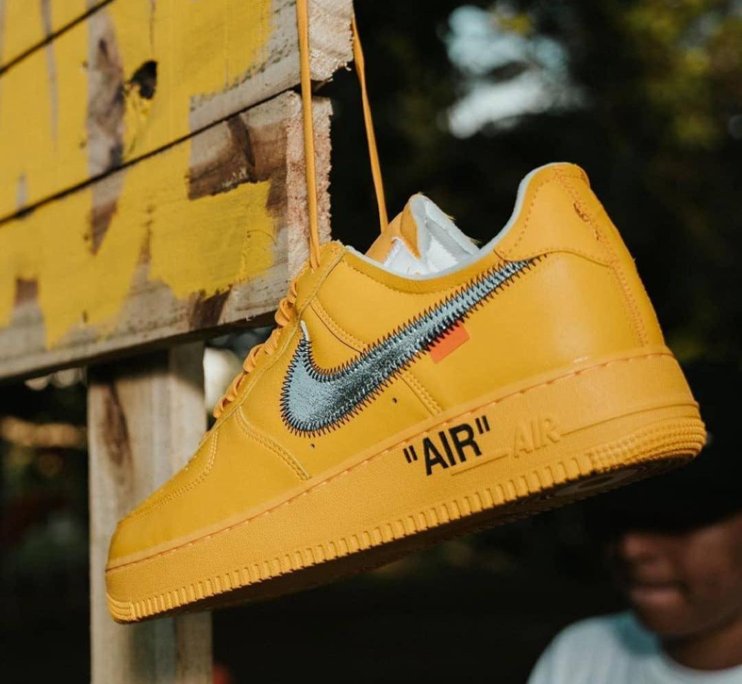 "Off-White x Nike Air Force 1 ""Lemonades"