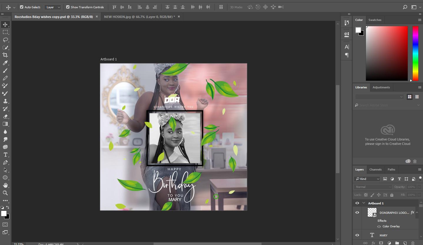 2 Months Intensive Photoshop classes