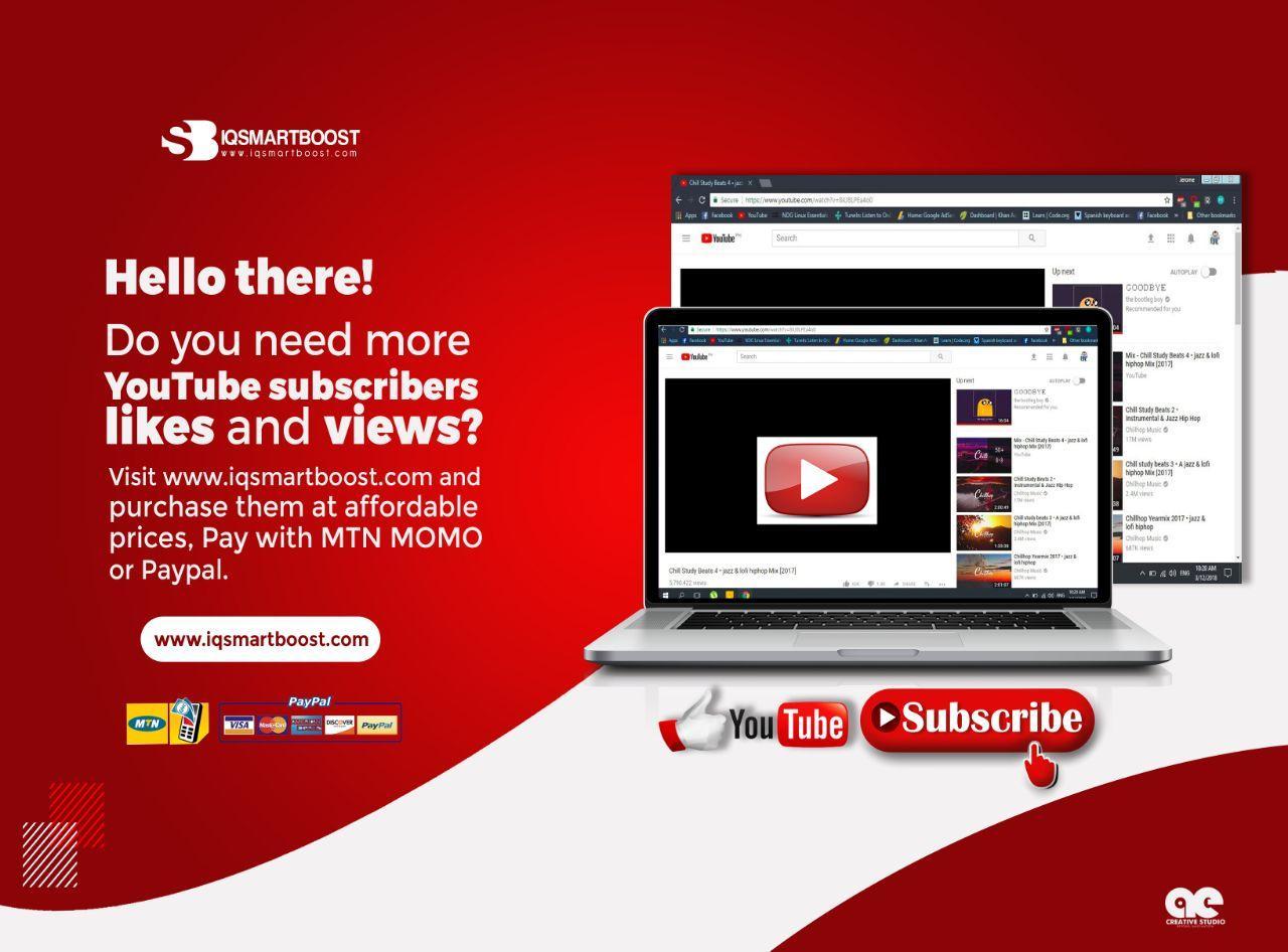 YouTube 500 Subscribers