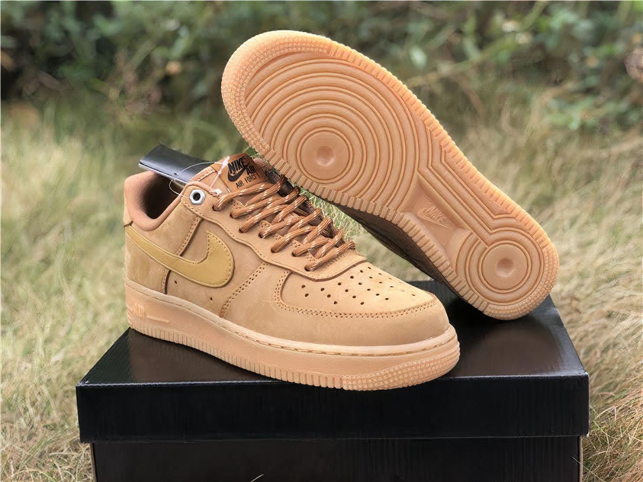 Custom brown Nike Airforce 1