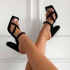 Nude & Black Heel Available