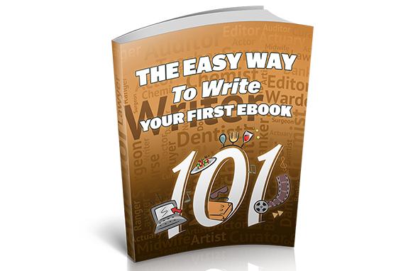 EASY WAY TO WRITE YOUR  E-BOOK(E-BOOK)