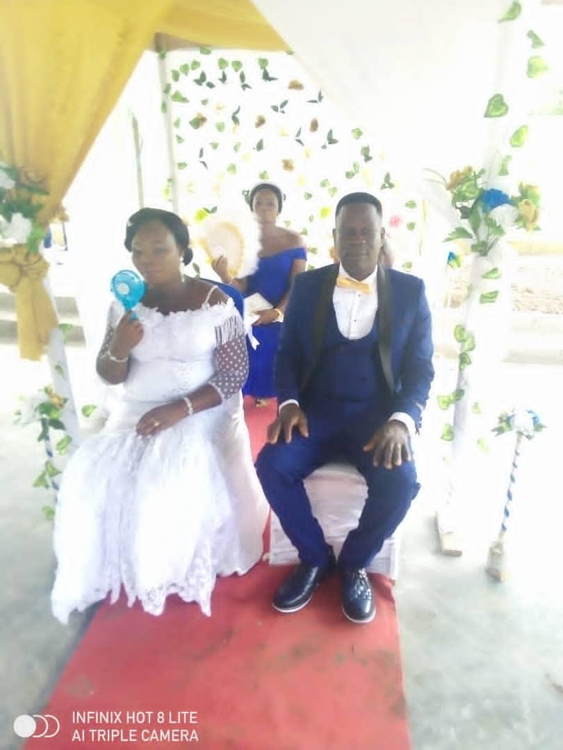 A wedding ceremoney