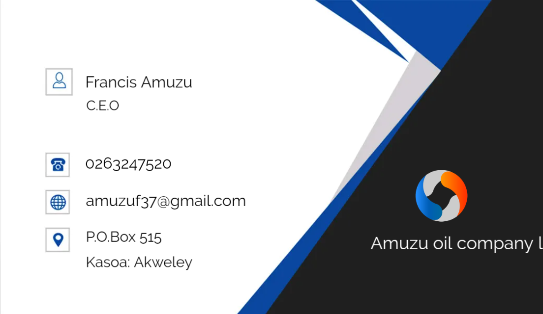 Business cards and posters