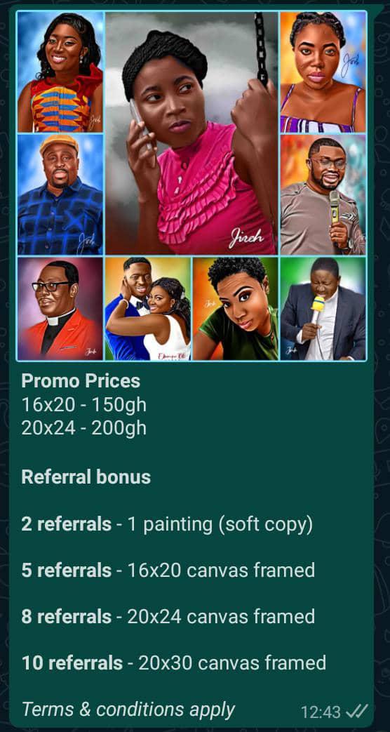 Jireh Digital Painting services