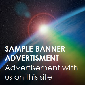 Sample banner advertisement